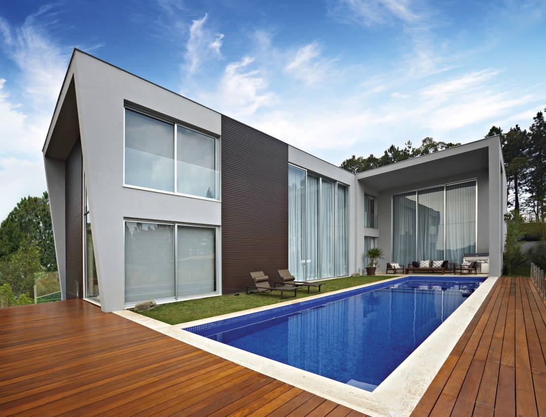 10 ideas de albercas para casas modernas m rcia carvalhaes - Ideas para casas modernas ...